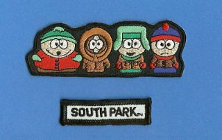 SOUTH PARK PATCHES Lot Cartoon Cartman Stan Kenny Kyle
