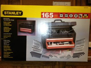 Stanley Mechanics Tool Set with Chest 165 Pieces BHK 89645