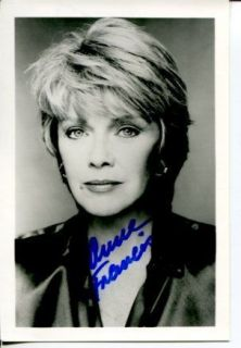Anne Francis Forbidden Planet Funny Girl Honey West Signed Autograph