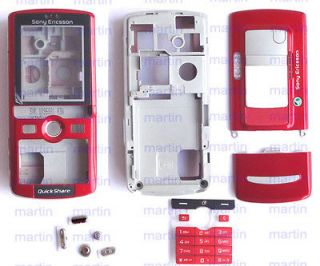 New Bright red Full Cover Housing Case For Sony ERICSSON K750 K750i