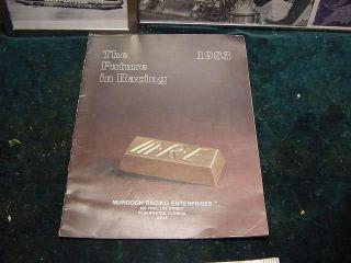 MURDOCH RACING CATALOG, 1983,HARLEY DRAG BIKE,KAWASAKI