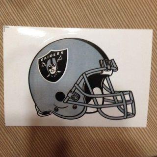 Oakland Raiders NFL helmet sticker