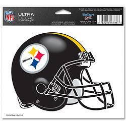 steelers helmet decals in Football NFL