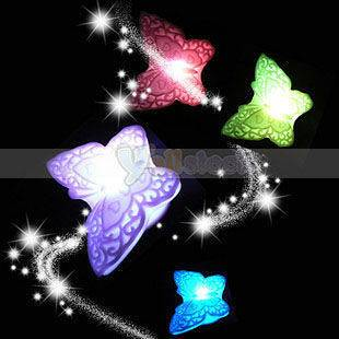 Romantic Butterfly 7 Color Changing LED Night Light Lamp Decoraiton