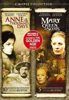 Anne of the Thousand Days Mary, Queen of Scots DVD, 2007, 2 Disc Set