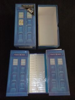 VINTAGE 1988 POLICE PUBLIC CALL BOX PHONE INDEX SET BOXED BY ANKER