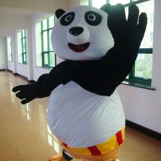 KUNG FU PANDA CARTOON COSTUME ADULT SIZE ANIMAL COSTUMES PARTY SUIT
