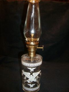vintage eagle oil lamp in Oil