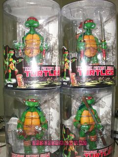 NEW Neca TMNT Teenage Mutant Ninja Turtles 5 Figure 4PCS Set