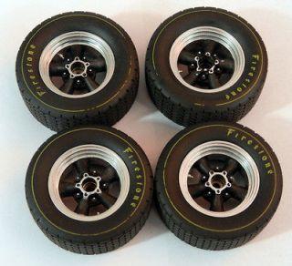 GMP American Torque Thrust Wheel & Tire set 1/18 scale