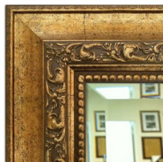The Gallery Framed Wall Mirror Ornate Antique Gold