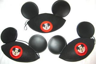 MICKEY MOUSE CLASSIC BLACK EARS  HATS DISNEY WORLD $$  beanie