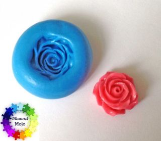 New Mini Rose Flower Silicone Mould for Cupcake Card Toppers, Fimo
