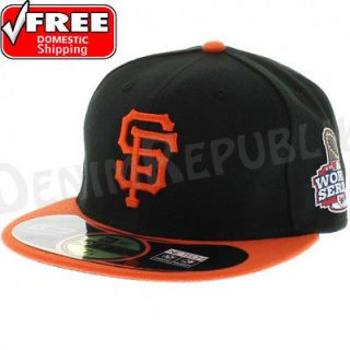 NEW ERA 5950 59FIFTY SAN FRANCISCO GIANTS WORLD SERIES CAP ALTERNATE