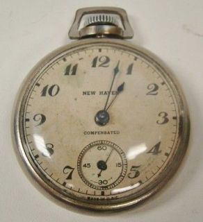 new haven pocket watch in Antique