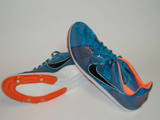 Mens Nike Zoom Matumbo (neptune blue/black/whi​te/total orange)