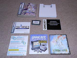 Final Fantasy IV Advance (Nintendo Game Boy Advance, 2005) COMPLETE