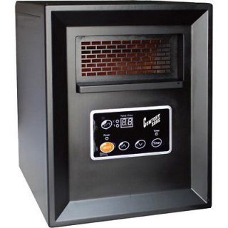 Comfort Zone Infrared Quartz Heater 3413 BTU 1000 Watts Model