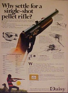 Daisy~1972~5 SHOOTER BB Toy Gun Air Rifle~ADIDAS mag AD