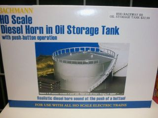 Scale Model Train Diesel Horn Oil Storage Tank Horn Sound Push Button
