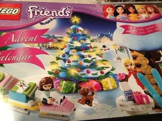 Lego Friends Holiday Girls 2012 Advent Calendar 3316 Nib LEGO Calender