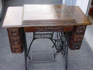 Vintage 3 Drawer Singer Sewing Machine