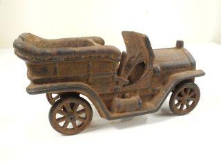 Model T ? Cast Iron metal car Toy Touring car Vintage Repop