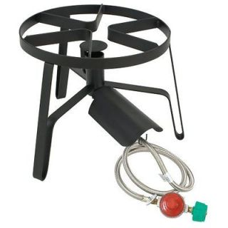 NEW Single Outdoor Cooking Burner Patio / Camp Propane Gas Stove