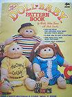 1984 The Original Doll Baby Cabbage Patch Pattern Book Soft Sculpture
