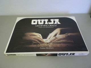 vintage ouija board game in