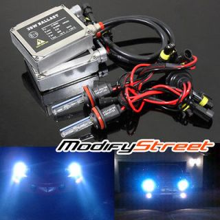 H11 10000K DEEP BLUE XENON AC BALLAST HID LOW BEAM HEADLIGHTS KIT