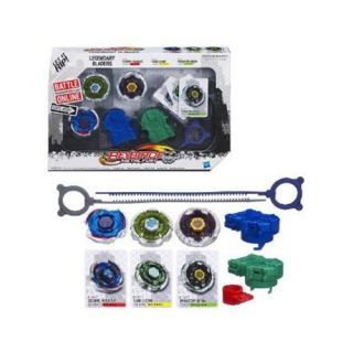 Beyblade Metal Fury Legendary Bladers Set Cosmic Pegasus Fang Leone