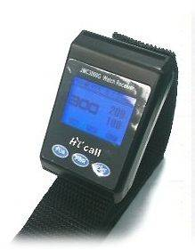 Wristwatch Wireless Waiter Server Call Paging System Guest pager Sound