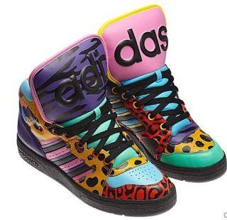 New Adidas Originals Mens JEREMY SCOTT INSTINCT HI JS ObyO Purple