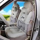 Winnie The Pooh Auto Car Front Rear Seat Plush Cover Cushion Set 9pcs