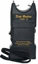 STUN MASTER 100,000 VOLT STRAIGHT STUN GUN SM 100S