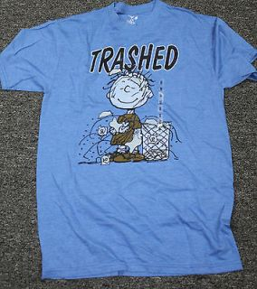 Trashed Peanuts Pig Pen Vintage T shirt Retro X Large Comic Tee