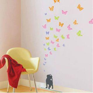 Feifei & Cat Wall Sticker Decor Decals Art Removable Wallpaper