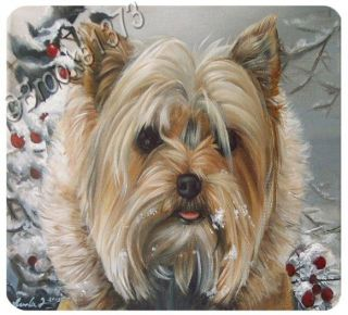 Puppy Dog Yorkshire Terrier Greeting Notecards & Envelopes