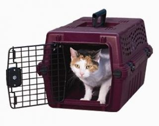 Petmate DLX Vari Kennel Jr airline pet carrier small dog cat travel