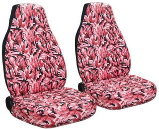 pink camo seat covers in Seat Covers