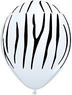 ZEBRA print safari animal latex birthday shower supplies decorations