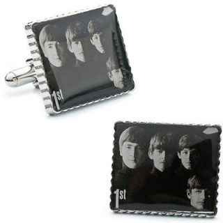 The Beatles 1st Album Cover Stamp Cufflinks PB M9309 SL 3 Cuff Links