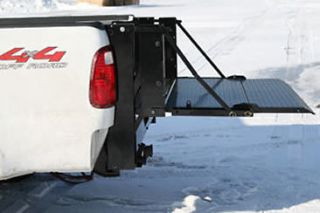 Pick Up Truck Tailgate, Lift Gate, Tommy, 2 Piece Floor + Mounting
