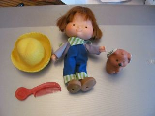 Strawberry Shortcake Huckleberry Pie doll complete?