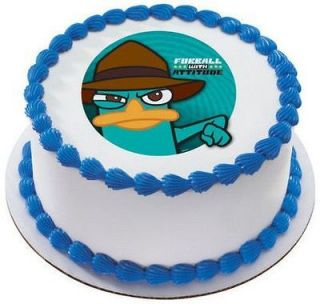 Phineas & Ferb Agent P ~ Edible Image Icing Cake, CupcakeTopper ~ LOOK