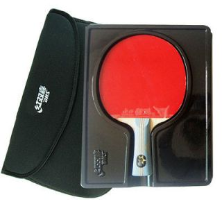 DOUBLE HAPPINESS 6002 TABLE TENNIS RACKET PING PONG PADDLE 6 STARS