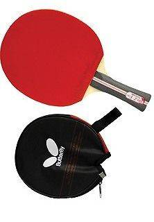 New Butterfly TBC302 FL Ping Pong Paddle Table Tennis Racket Free