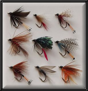 50 SEA TROUT HAND TYED WET FLIES BRAND NEW FISHING FLY for rod reel