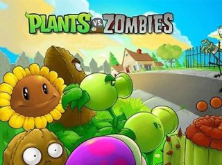 Plants Vs Zombies Removable Wall Stickers Vinyl Nursery Kids Decal